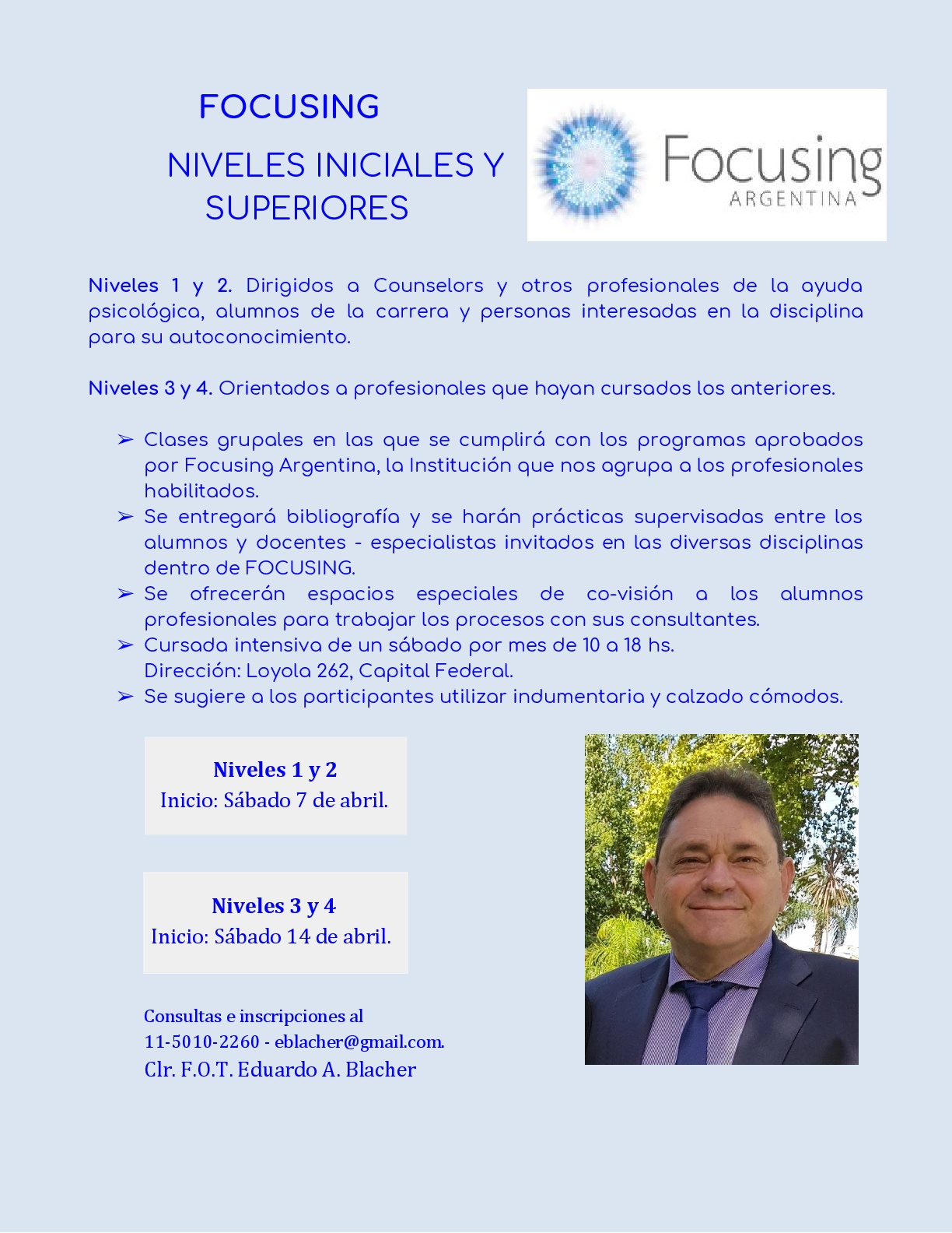 Focusing 2018 Intensivo