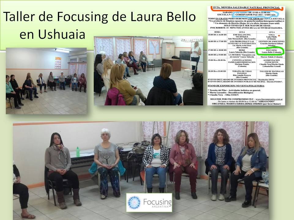 Taller de Focusing de Laura Bello