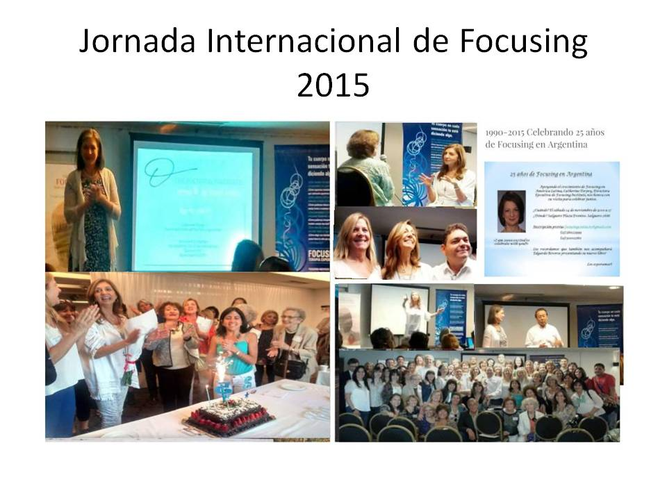 Jornada Internacional de Focusing 2015